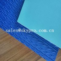 Quality Durable eva shoe sole blue and green 3D printing 2-6 mm Thickness for sale