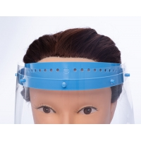 Quality Disposable Medical Protective Face Shield PET And PC Material for sale