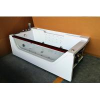 China Computerized 70 Inche Mini Indoor Hot Tub Single Person Hot Tub With 12 Massage Air Jets on sale