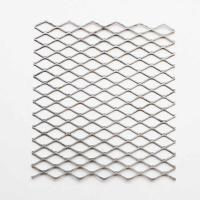 Quality Shelving Extruded Steel Mesh , Long Service Life Stretched Steel Mesh for sale
