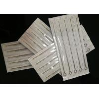 """Quality Disposable Semi Permanent Makeup Needles With Tube Grips 3/4"""" 19 Mm Grip for sale"""