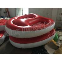 China Screen Printing Inflatable Water Toy , 4m Diameter 2 Seats PVC Inflatable Boat on sale