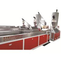 China Automatic Plastic Profile Extrusion Line Wpc External Profile Extrusion Manufacturing Machine on sale