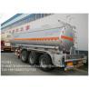 30CBM Fuel Tanker Trailer , Oil Tank Trailer Truck With ADR Certificate