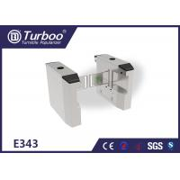 Electric Lock Baffle Turnstyle Automatic Gates 304 Stainless Steel Material