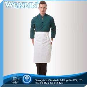China Waitress wholesale bar waiter bottom price promotion cheap bib apron for men on sale