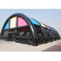China Paint Ball Game Huge Inflatable Tent Structures For Archery Laser Tag Drones on sale
