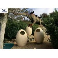 Quality Animatronic Giant Dinosaur Eggs Models For Jurassic Park Decoration 5 Meters for sale