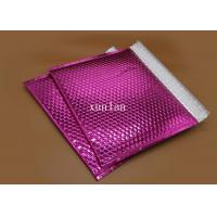 China Anti Rub 6x10 Bubble Mailers Metallic Foil Film For Shipping High Value Items on sale