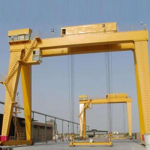 Quality 100 Ton Double Girder Crane Shipyard Shipbuilding Overhead Gantry Crane for sale