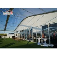 Quality Sandwich Wall Clear Span Tents Transparent PVC Roof Cover Outside for sale