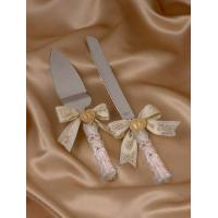 Quality Polyresin wedding cake service set for sale