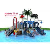 Quality Adventurous Water Park Playground Equipment , Attractive Water Park Slide  820*530*410cm for sale