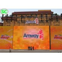 Quality Great waterproof Outdoor Stage LED Display Screen Advertising , LED TV Screen for sale