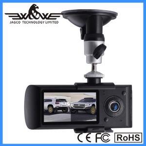 "China x3000 car dvr,car black box 2.7"" Dual camera Car DVR with GPS module can record driving track on sale"