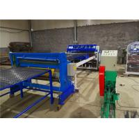 Buy cheap Semi - Automatic Welded Mesh Machine with Wire Straighten and Cutting Machine from wholesalers