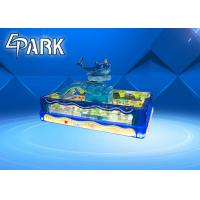 Quality 3D Clear Fishing Pond coin operated game machine amusement park game for sale