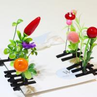 Buy cheap plant grass head long grass hairpin flower sprouts flower