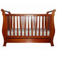 China Good selling simple elegant New Zealand solid pine wood baby crib baby cot baby bed baby bedding on sale