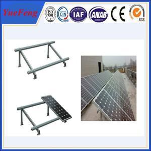 Buy cheap Single cloumn Steel solar panel mounting bracket, Solar panel roof mount kit from wholesalers