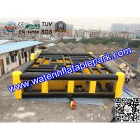China Laser Tag Inflatable Maze Hire / Inflatable Maze For Amusement Park on sale