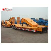 China Stable Loading Heavy Duty Semi Trailers Leaf Spring Suspension With Anti - Slip Strip on sale