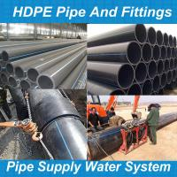 Buy pe pipe fittigntube polyéthylène/hdpe rohr/pe hd rohre/tubo pead/hdpe pipe sizes/tube pehd at wholesale prices