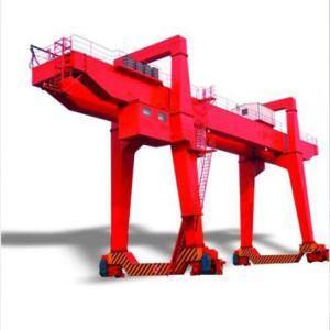 Quality Rail Mobile Double Girder Gantry Crane /  Electric 80ton 50 Ton Gantry Crane for sale