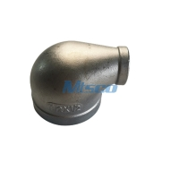 Quality ASTM A351 CF8M Male Female Thread Reducing Elbow Casting Pipe Fittings for sale