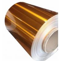 Quality Extra Wide Painted Aluminium Coil Color Coated Aluminium Coil Excellent Flatness for sale