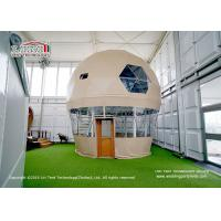 Buy cheap Large Outdoor Steel Frame Hot Balloon Geodesic Dome Tent Glamping Asheville from wholesalers