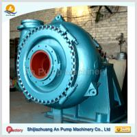 Quality Centrifugal dredging sand pump with gear box for sale