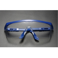 professional safety glasses eye protection with clear, fog-free, scratch-resistant and UV protective coated lenses