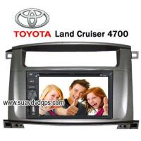 Quality TOYOTA Land Cruiser 4700 special Car DVD Player GPS bluetooth RDS IPOD for sale