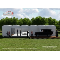 Quality Outdoor coffee Bar House Hotel Inflatable Tent for Hotel Restaurant, high quality aluminum and PVC luxury glamping tent for sale