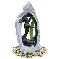 Quality Outside Garden Statue Water Fountains With Fiberglass / Cement / Magnesia Material for sale