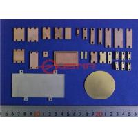 Buy cheap Polished CMC Block Heat Sink , Heat Spreader / Copper Base Plate For Microwave from wholesalers