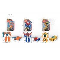 China 7  Mini Plastic Deformation Robot Vehicle Car To Robot Transformer Toy 11 Styles on sale