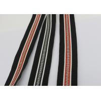 Quality Garments / Bags Brass Long Chain Zipper Silver Teeth Polyester / Cotton / Aramid Tape for sale