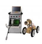 Quality Efficient Sewer Inspection Robot , Robot CCTV Camera Crawler System for sale