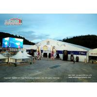 Quality PVC Walls Luxury Banquet Tents For 1000 People / Outdoor Wedding Canopy for sale