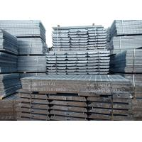 Quality 254/30/70 mm T4 Galvanized Metal Grate Steps Bolted Conection for sale