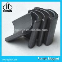 Quality Y30BH Grade Ferrite Arc Magnet For Water Pumps , Strong Hard Ferrite Magnets for sale