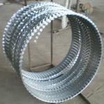 hot galvanized concertina wire razor barbed wire