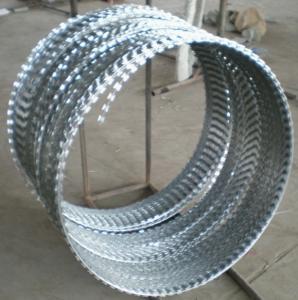 Quality hot galvanized concertina wire  razor barbed wire for sale
