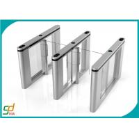 Quality Bidirectional Slim Swing Arm Barrier/ Bi - directional Turnstile Controlled Access Gates for sale