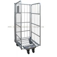 Quality 500kg Capacity Warehouse Equipments Euro Style Roll Container Powder Coating Finishes for sale