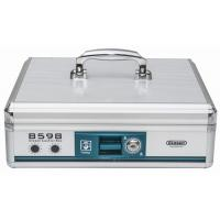 Quality Metal Cash Box / Lockable Money Box in Silver 336*275*110mm  B598 for sale