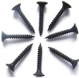 # 2 Bugle Head Drywall Screws For Treated Pine , Twinfast Thread Black Chipboard Screws