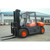 Quality 2 Stage / 3 Satge Mast Diesel Forklift Truck 8 Ton 7000mm Max Lift Height for sale